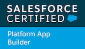 Salesforce Platform App Builder Cert Logo