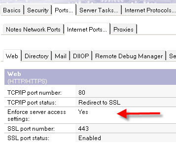 HTTP Access Setting